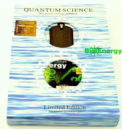 Potente Quantum Bio collar con colgante de energía Escalar equilibrio magnético cadena de 181: Amazon.es: Salud y cuidado personal