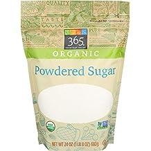 365 Everyday Value Organic Powdered Sugar, 24 Ounce