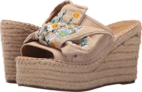 Franco Sarto Women's Talinda Espadrille Wedge Sandal, Light Bone, 5.5 M US (Footwear Bone Light)