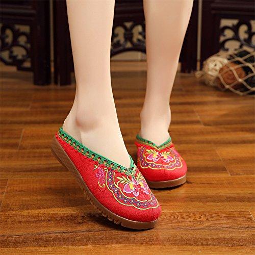 xichengshidai , Damen Mokassins mehrfarbig mehrfarbig