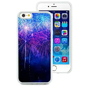 NEW Unique Custom Designed iPhone 6 4.7 Inch TPU Phone Case With New Year Fireworks HD_White Phone Case