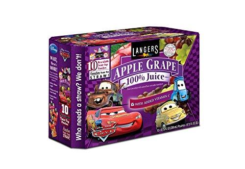 Langers Disney Apple Grape Pouches product image