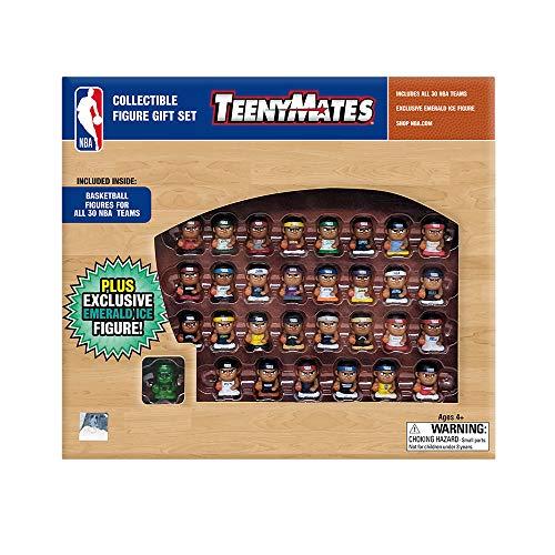 Party Animal TeenyMates NBA Collectible Gift Set, 30 NBA Mini Team Figures