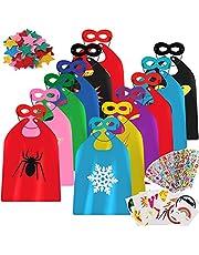 vamei Disfraces de niños con máscaras Pegatinas con Letras de Estrellas para niños Cosplay Disfraces Artículos de Fiesta Regalos de cumpleaños