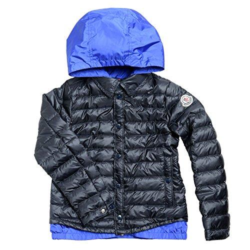Moncler Kids (Moncler Boy's Down Full Zip Hooded Parka Jacket Size 8A)