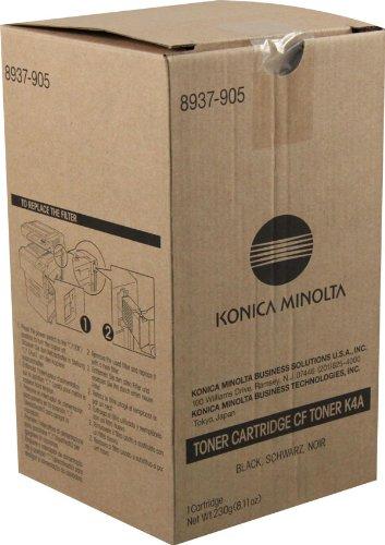 NEW Konica Minolta OEM Toner 8937-905 (BLACK) (1 Bottle) (Copier) by USA Printer Co.