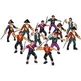 Rhode Island Novelty Plastic Pirate Action Figures (1 Dozen)