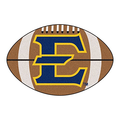 FANMATS NCAA East Tennessee State Univ Buccaneers Nylon Face Football Rug
