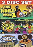The Jungle Book, The secret world of OG, The adventures of Cheburashka And Friends