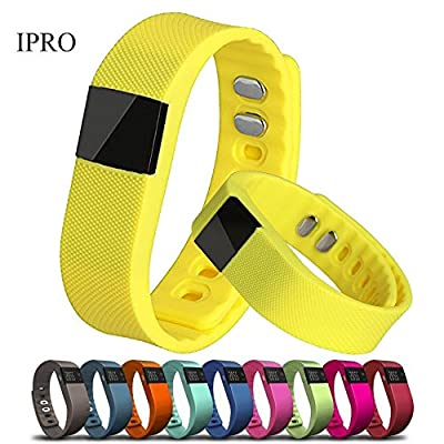 IPRO TW64 Werable Smartwatch Activity Fitness Tracker for Kids/Women Health Pedometer Sleep Calorie Monitor Waterproof Wrist Band Bluetooth Exercise Bracelet for Android& iphone 4S/5C/6/6 plus