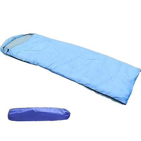 HHHKKK Saco de Dormir con Bolsa de compresión, 4 Estaciones, fácil ...
