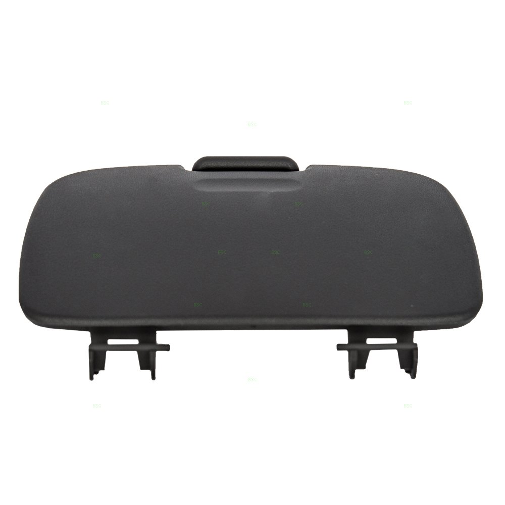 Overhead Console Garage Door Opener Lid Black Cover Storage Bin Replacement for Ford Explorer /& Sport Trac Super Duty Pickup w//out Sunroof