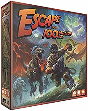 Amazon.com: Escape From 100 Million B.C. Juego de mesa: Toys ...
