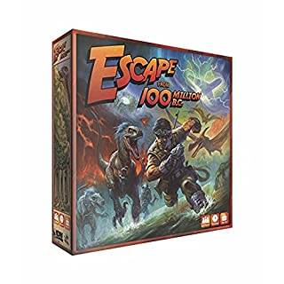 Escape From 100 Million B.C.! Board Game