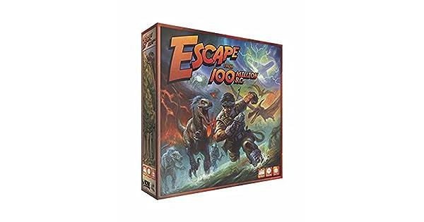 Amazon.com: Escape From 100 Million B.C. Juego de mesa: Toys ...