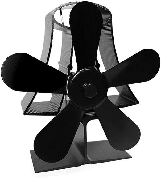 Ventilador sin motor Para chimenea Estufas de leña Estufas de 5 ...