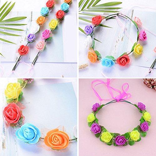 Foam-Roses-144pcs-Artificial-Multi-Color-Fake-Flower-DIY-Wedding-Home-Party-Decoration-Wedding-Car-Corsage-Decoration-White