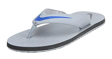 Nike Men's Chroma Thong 5 Grey Flip Flops (UK-12)
