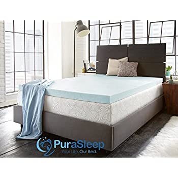 Amazon Com Purasleep 10 Coolflow Memory Foam Mattress