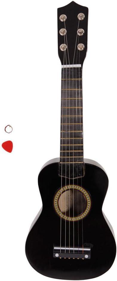 Festnight Guitarra acústica 21 Pulgadas con púa de Guitarra y púa ...