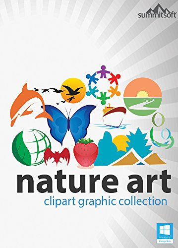 Nature Art ClipArt Graphic Collection for Windows [Download] by Summitsoft