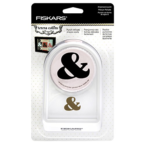 Fiskars Crafts Teresa Collins Ampersand Intricate Shape Punch