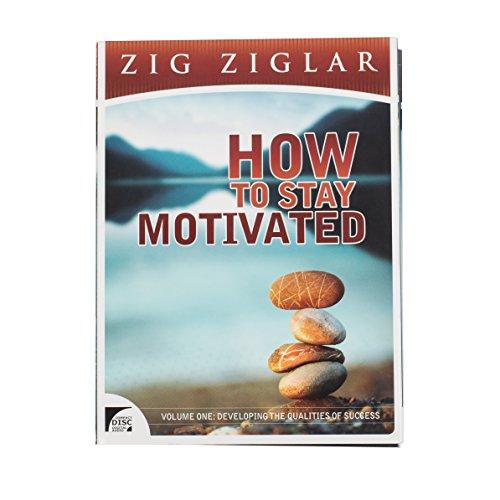Zig Ziglar - How to Stay Motivated - Developing the Qualities of Success 7 Cd Audio Program by Zig Ziglar