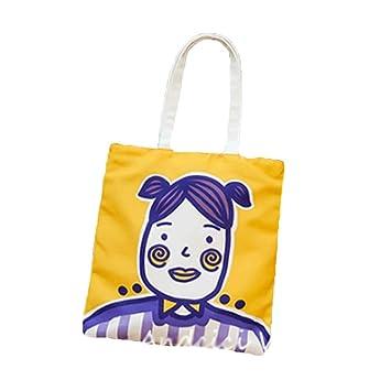 Bolsa de Lona - Material de algodón Lavable en Lavadora Adecuado para Comprar Ordenador portátil Libros