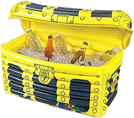 Zuolo Aufblasbare Boom Box Getränkekühler ,, Aufblasbarer Eisbehälter Pool Aufblasbarer Getränkekühler , Eisportierbehälter für den Innen- und Außenbereich , für EIN Wasserparty-Picknick-Barbecue