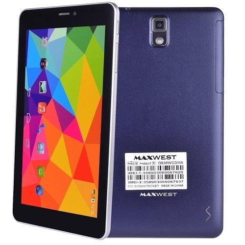 Maxwest Nitro Phablet 71 1.2GHz Dual-Core 8GB 7'' 4G (Blue)