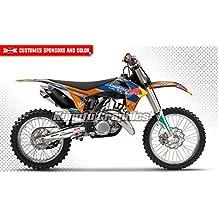 2011 2012 KTM 125 150 250 350 450 SX SXF XC XCF MX Graphics Decal Kits for Dirt Bikes, Scratch Fade Resistant, Motorsport Motocross Supercross