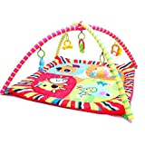 Baby Play Mat - Infant Activity Gym - Overhead Arches...