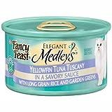 Cheap Fancy Feast Elegant Medley`s Yellowfin Tuna Tuscany w/ Long Grain Rice & Garden Greens Cat Food 24 – 3oz Cans
