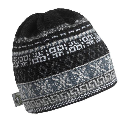 Turtle Fur Men's Hawkeye, Classic Wool Ski Hat, (Knit Earband)