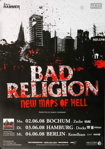 Amazon.com: Bad Religion – Nuevos Mapas del infierno 2008 ...