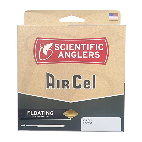 Scientific Anglers Air Cel Floating Lines, Yellow, WF- 5-F