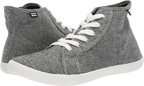Billabong Women's Phoenix Walking Shoe, Black/White, 8 M US