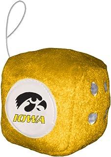 Casey 2324558027 Iowa Hawkeyes Fuzzy Dice NCAA