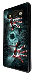1106 - Cool fun scary ghost zombie blood alien vampire death Design For Samsung Galaxy A5 Fashion Trend CASE Back COVER Plastic&Thin Metal - Black