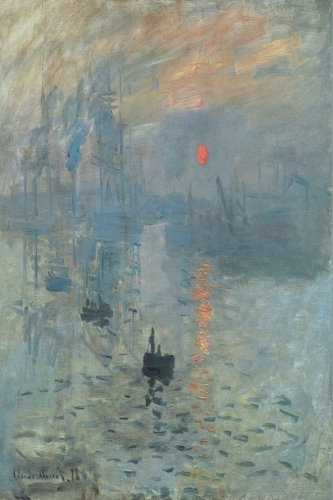 (Monet:  Impression, Soleil Levant: Dot Grid Writing Journal Notebook 6 x 9, 130 pages)