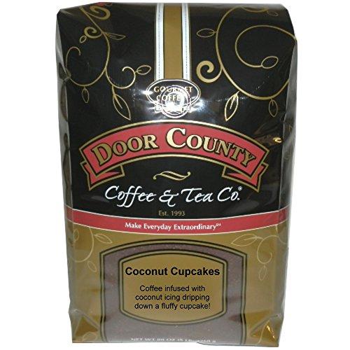 Door County Coffee, Coconut Cupcakes, Ground, 5lb Bag ()