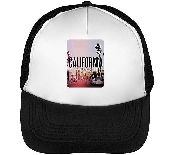 California Boulevard Gorras Hombre Snapback Beisbol Negro Blanco  Amazon.es   Ropa y accesorios e790afeae63
