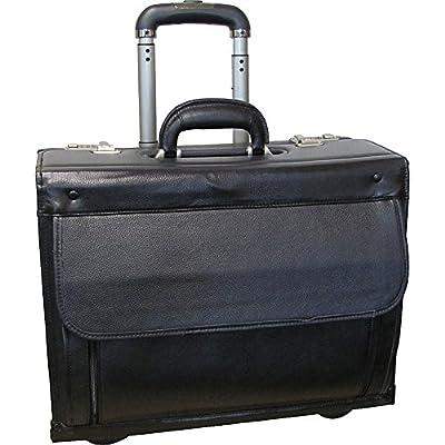 0ca9aa342f chic AmeriLeather Leather Wheeled Laptop Catalog Case ...