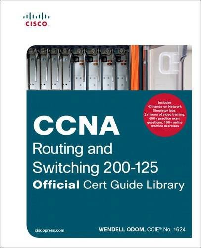 CCNA Routing and Switching 200-125 Official Cert Guide Library cover