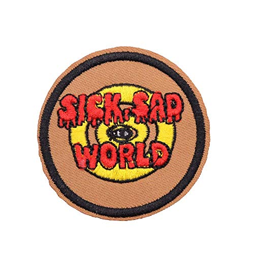 U-Sky Sew or Iron on Patches - Poor Sick Sad World for sale  Delivered anywhere in USA