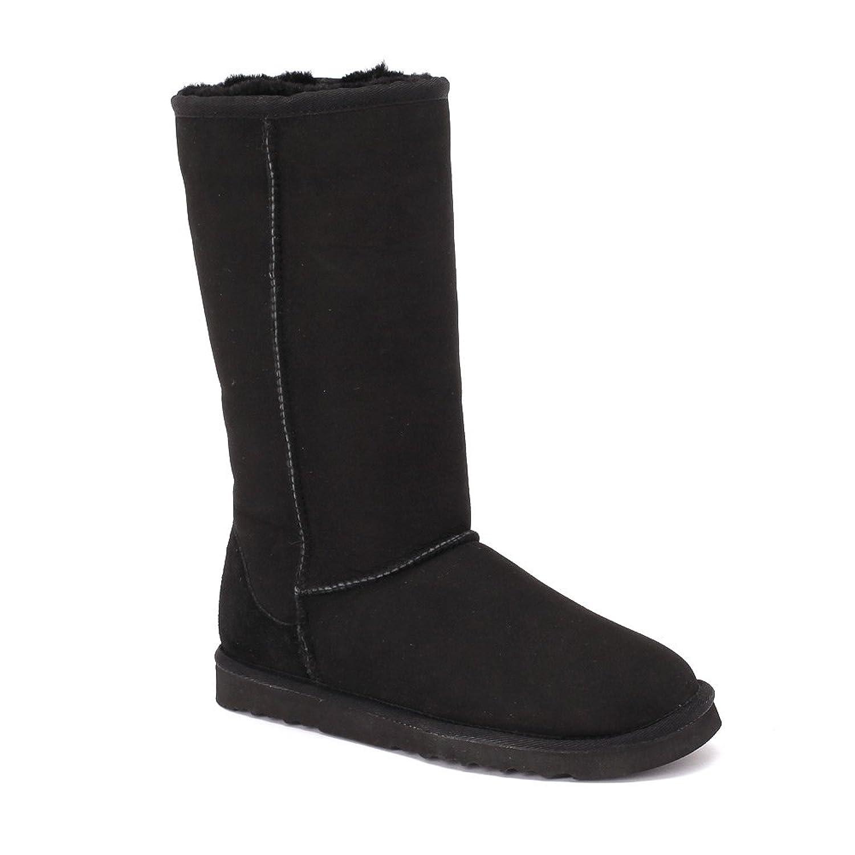 Women's Classic Mini Twin-Face Sheepskin Boots Chestnut