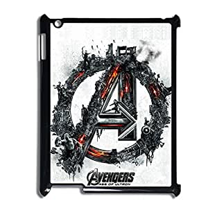 Printing With Avengers Age Of Ultron 2 Custom Back Phone Case For Girly For Apple Ipad 2/3/4 Choose Design 1