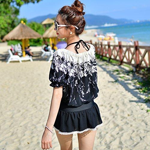 YUPE Hot Spring swimsuit Fashion Badeanzug Kleid bikini drei Stück der Bademode ferienhäuser strand