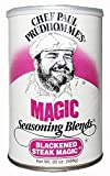 Chef Paul Blackened Steak Magic Seasoning, 20-Ounce Canisters (Pack of 2)
