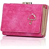 Lorna Women/Girl's Faux Leather Card Holder Mini Wallet Clutch Green/Blue/Pink/Brown/White/Light Pink